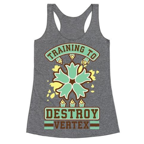 Training to Destroy Vertex Itsuki Racerback Tank Top