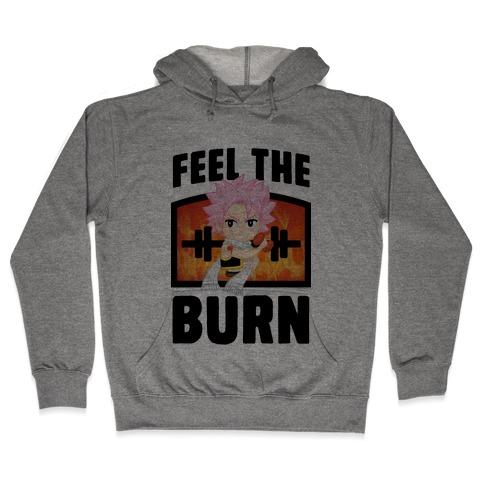 Feel the Burn (Natsu) Hooded Sweatshirt