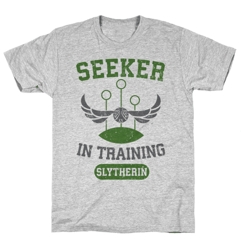 Seeker In Training (Slytherin) Mens T-Shirt