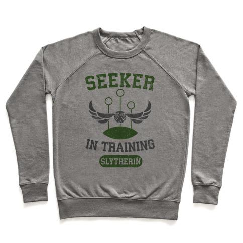 Seeker In Training (Slytherin) Pullover
