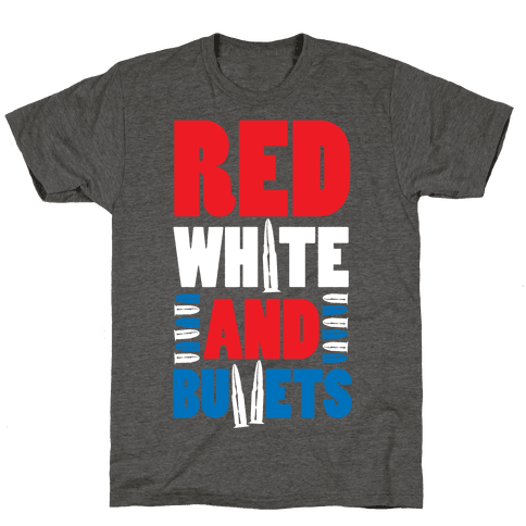 Red, White, And Bullets