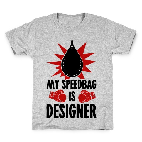 My Speedbag is Designer Kids T-Shirt