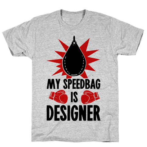 My Speedbag is Designer Mens T-Shirt