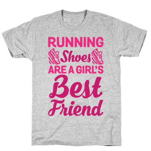 Running Shoes Are a Girl's Best Friend Mens T-Shirt