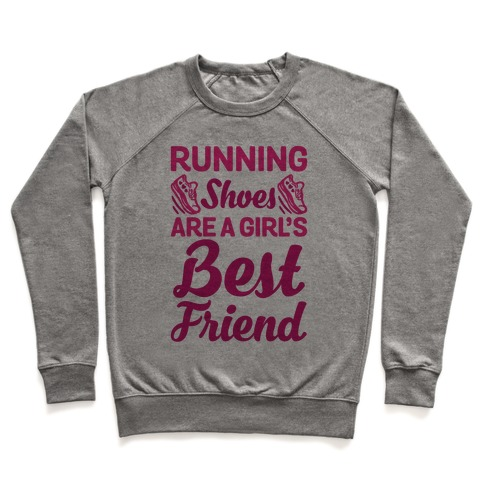 Running Shoes Are a Girl's Best Friend Pullover