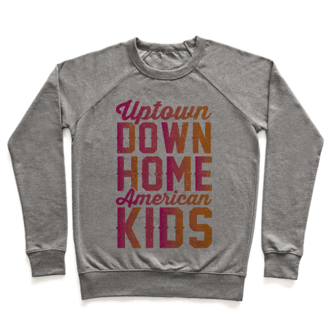 Uptown Downhome American Kids Pullover