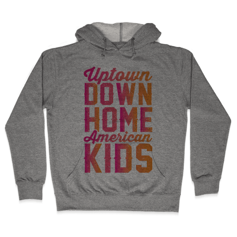 Uptown Downhome American Kids Hooded Sweatshirt