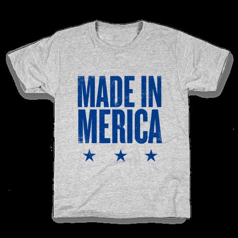 Made In Merica Kids T-Shirt