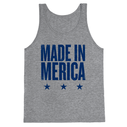 Made In Merica Tank Top