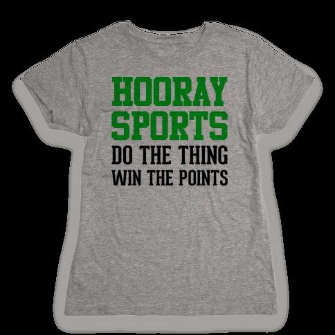 Hooray Sports Womens T-Shirt
