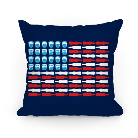 United Drinks of America Pillow