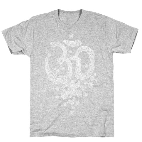 Om And Eye Mens T-Shirt