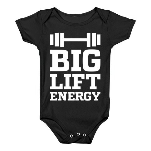 Big Lift Energy Baby Onesy