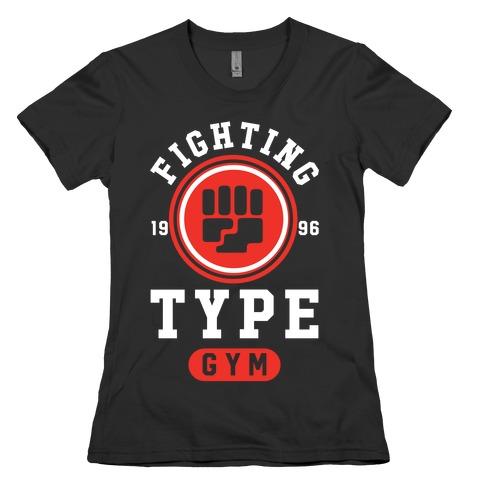 Fighting Type Gym 1996 Womens T-Shirt