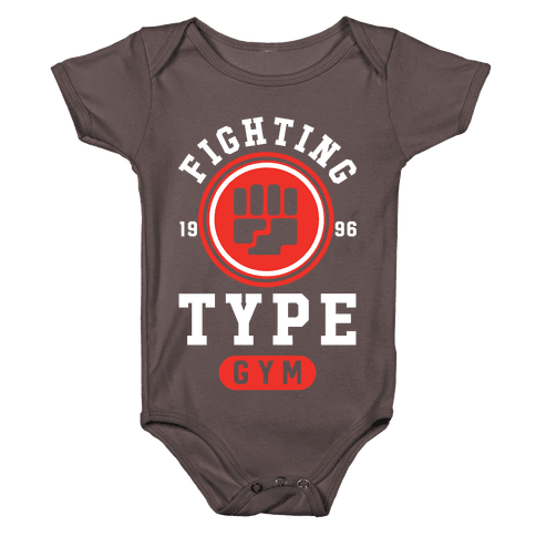 Fighting Type Gym 1996 Baby One-Piece