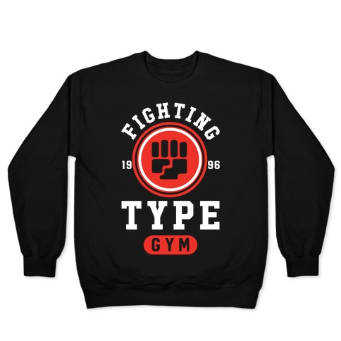 Fighting Type Gym 1996 Pullover