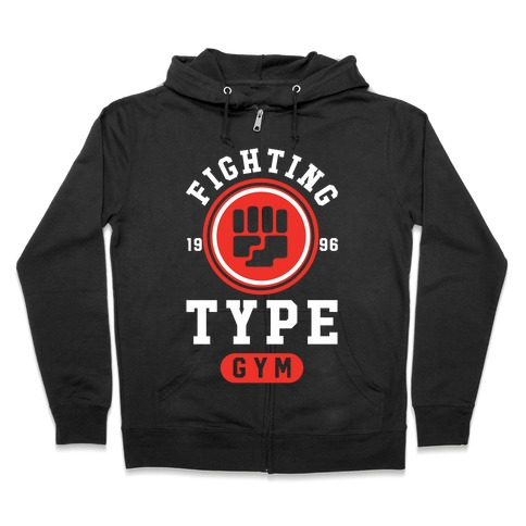 Fighting Type Gym 1996 Zip Hoodie