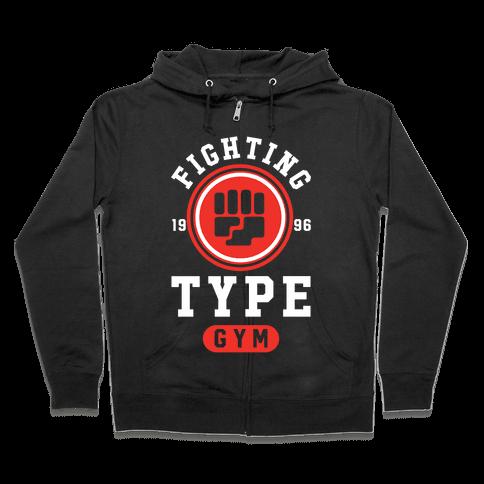 Fighting Type Gym 1996 Zip Hoodie