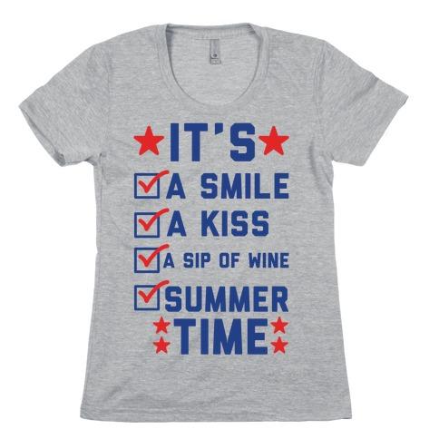 It's Summer Time Womens T-Shirt