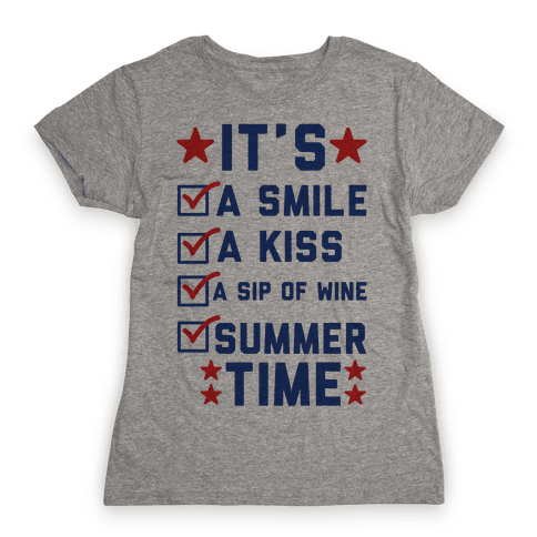 It's Summer Time Womens T-Shirt