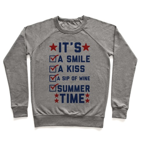 It's Summer Time Pullover