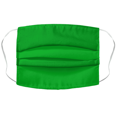 Bright Green Face Mask Cover