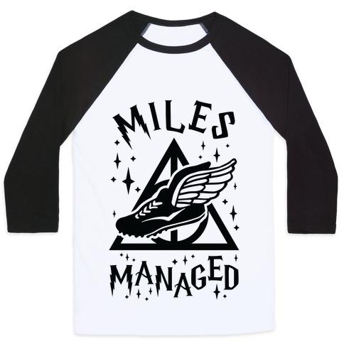 Miles Managed Baseball Tee