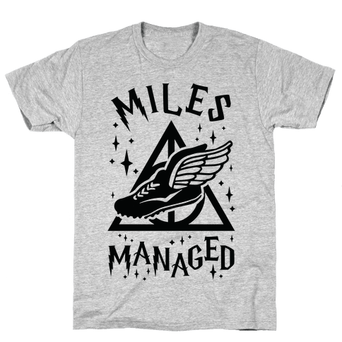 Miles Managed Mens T-Shirt