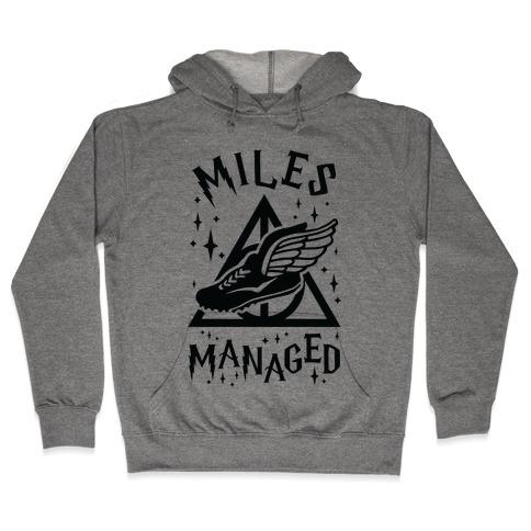 Miles Managed Hooded Sweatshirt