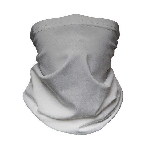 Grayscale Light Neck Gaiter