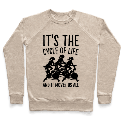 It's The Cycle of Life Spinning Parody Pullover