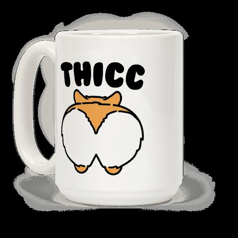 Thicc Corgi Butt Parody