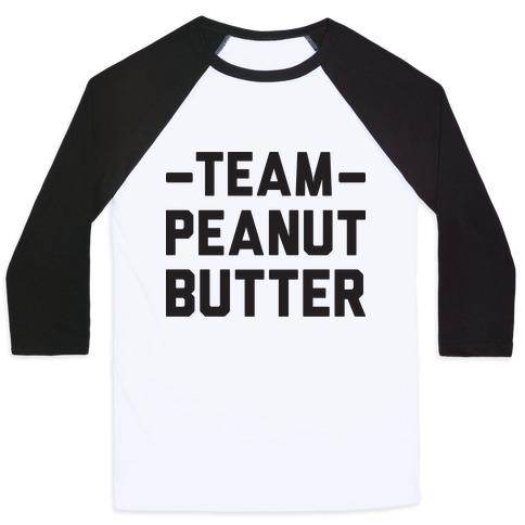 Team Peanut Butter Baseball Tee