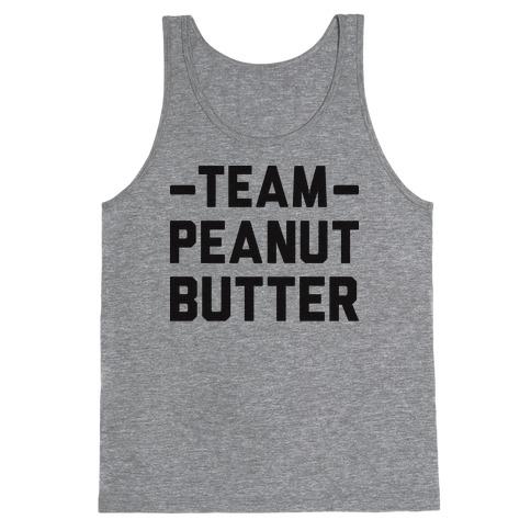 Team Peanut Butter Tank Top