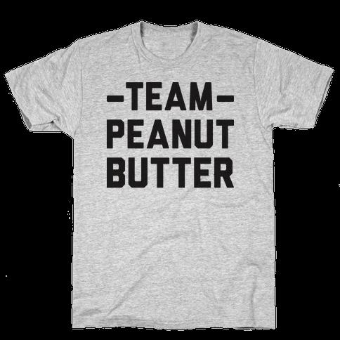 Team Peanut Butter Mens T-Shirt
