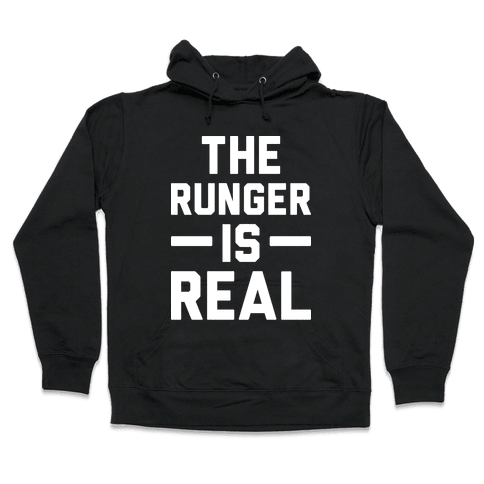The Runger Is Real Hooded Sweatshirt