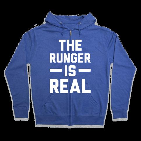 The Runger Is Real Zip Hoodie
