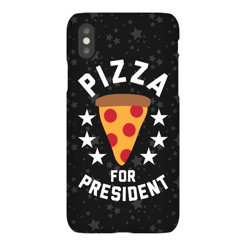 Pizza For President Phone Case