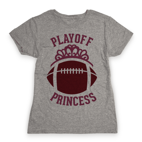 Playoff Princess (Football) Womens T-Shirt