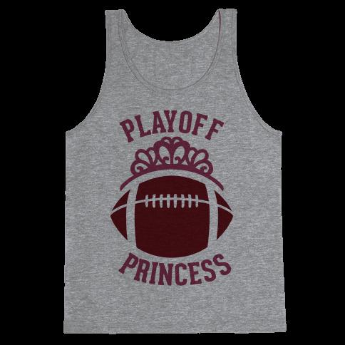 Playoff Princess (Football) Tank Top