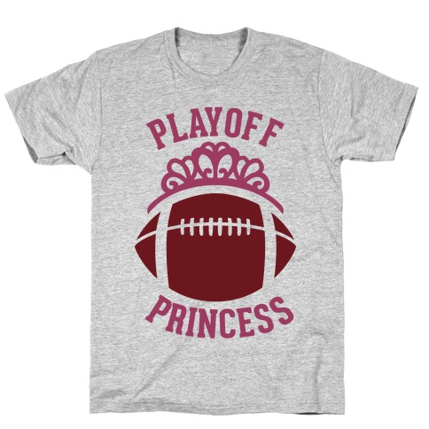 Playoff Princess (Football) Mens T-Shirt