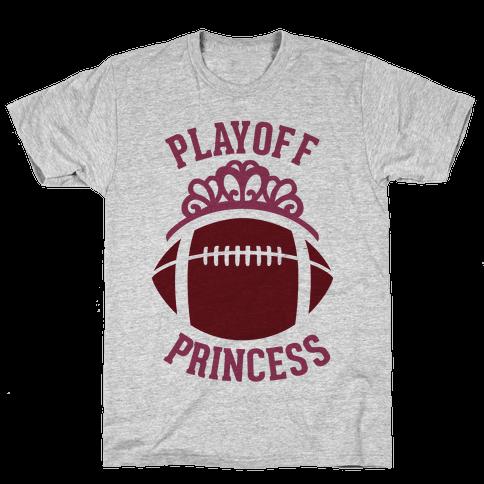 Playoff Princess (Football) Mens T-Shirt