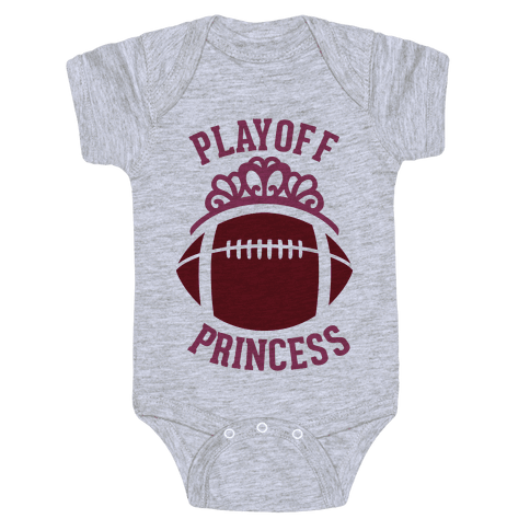 Playoff Princess (Football) Baby Onesy