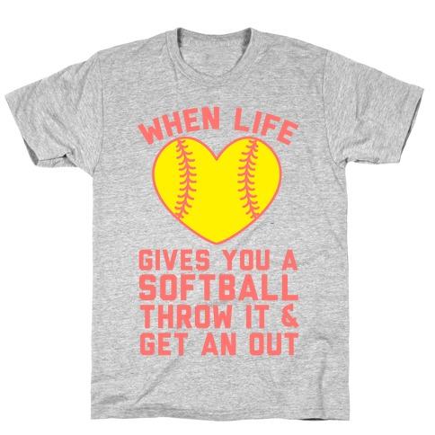 Throw It & Get An Out T-Shirt