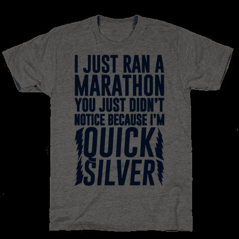 I Just Ran A Marathon
