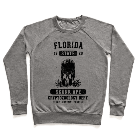 Florida Skunk Ape Cryptozoology Pullover