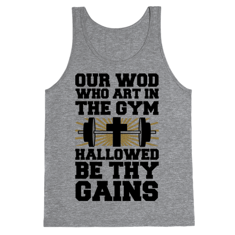 The Fitness Prayer Tank Top