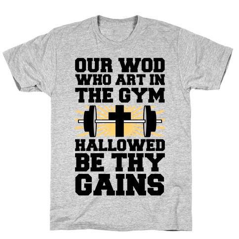 The Fitness Prayer T-Shirt