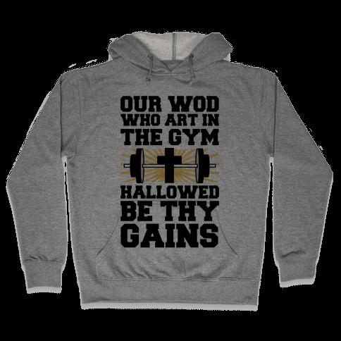 The Fitness Prayer Hooded Sweatshirt