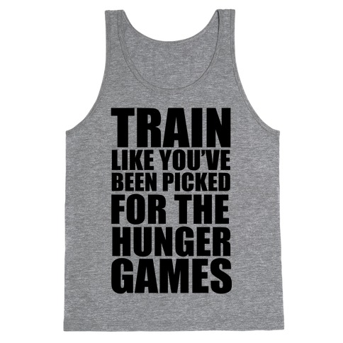 Train For The Hunger Games Tank Top